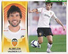 11 ALBELDA ESPANA VALENCIA.CF STICKER ESTE LIGA 2010 PANINI