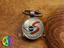 Handmade Mini Cooper S (1) Keychain Key Chain Case Key Ring Accessories Gift