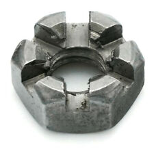 Plain Steel Slotted Hex Nut Carbon Steel Castle Nuts - Select Size & Qty