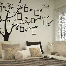 Top Removable Family Tree Photo Frame Wall Sticker Memory Tree Wall Decal Mural