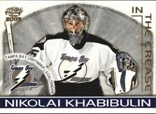 2004-05 PACIFIC IN THE CREASE # 9 GOALIE NIKOLAI KHABIBULIN !!