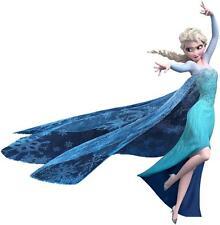 Pegatina Mural de Frozen Princesa Elsa reina nieve infantil decoración interior