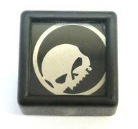 Harley Black Willie G Skull Circle Milestone Locket Bracelet Charm P//N HSP0013