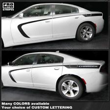 Dodge Charger 2011-2019 Side Accent Stripes Decals (Choose Color)