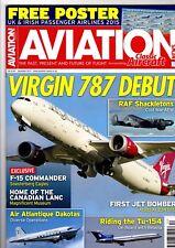 Aviation News 2014 December Virgin,Soesterberg,Tu154,Shackleton,Buffalo,Ar234