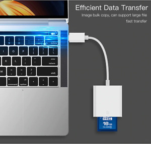 USB 3.1 Type C to SD Camera Card Reader Adapter for Macbook Samsung Huawei Mi