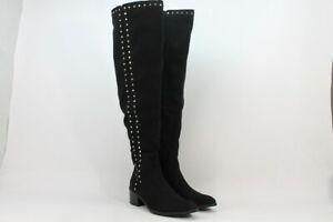 Fergalicious HARLIN Women's Black Over the Knee Boot NW/OB