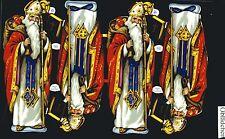 # GLANZBILDER # MLP 927 Nikolaus / Santa, schöner alter Bogen, selten