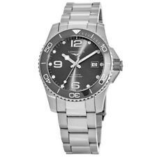 New Longines HydroConquest Automatic 41mm Grey Dial Men's Watch L3.781.4.76.6