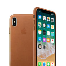 High Quality Leather Case For Apple iPhone X iphone 10 Genuine Leather Brown