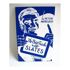 The Best Tricks with Slates Peter Warlock ESP Mentalist Spirit Magic Tricks Book