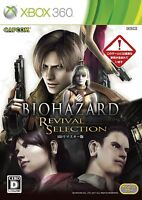 Xbox360 Biohazard: Revival Selection Japan Import Game Japanese