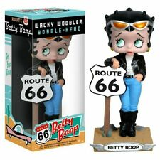FUNKO Betty Boop Route 66 Wacky Wobbler Bobble Head Figure