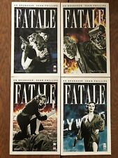 Fatale lot of 4 (2012, Image) Ed Brubaker horror story with Sean Phillips art