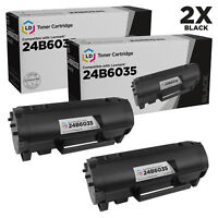 LD Compatible Lexmark 24B6035 Black Toner 2-Pack for use in M1145 & XM1145