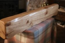Rustic Oak Beam Mantelpiece Solid Oak Fireplace Surround Floating Mantle Shelf