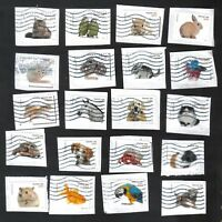 #5106-5125, Pets Used Set of 20, Forever, On Paper