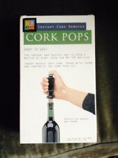 Cork Pops Automatic Wine Opener Air Powered Cork Screw