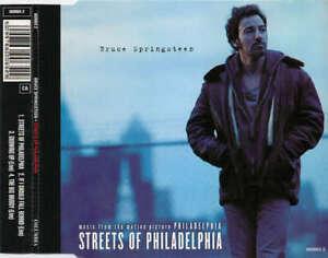 Bruce Springsteen - Streets Of Philadelphia CD Single 6327