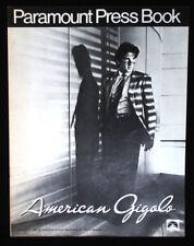 American Gigolo-1980 Richard Gere Movie Pressbook-vintage ads, poster photo