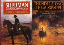 Civil WAR SHERMAN: A Soldiers Passion For Order & THUNDER Along The Mississippi