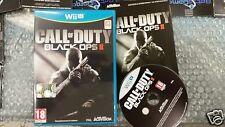WII U : CALL OF DUTY : BLACK OPS 2 II scatola ita