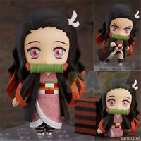 "Demon Slayer: Kimetsu no Yaiba Kamado Nezuko Q Ver. 4"" PVC Figure Model Toy Gift"