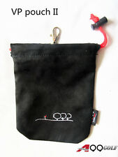 A99 Golf VP-II Valuable Pouch Accessories Bag Jewelry Watch bracelet Bag Black
