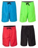 Burnside Men's Solid / Heather Board Shorts, Swim, Beach, Slalom, Ski, 9301 9305