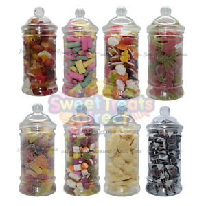 VICTORIAN SWEETS JAR RETRO Pick n Mix Sweets Wedding Kids Candy Gift Birthday