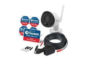 Swann HD Add on IP 1080P Wireless WIFI CCTV Camera Home Security Night Vision