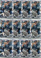 LOT (21) 2019 BOWMAN JOEY WENDLE TAMPA BAY RAYS - 5107