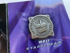 Limited Coin For Takara Tomy Transformers Masterpiece MP-11 Starscream New