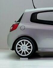 Cerchi wheels Speedline Turini 5 fori + pneumatici 1/18 Rally Norev Ottomobile