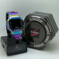 G-SHOCK RAINBOW TITANIUM STEEL DW5600