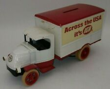 ERTL 1926 Mack Bulldog Delivery Truck Bank Diecast IGA Grocery Store ACROSS USA