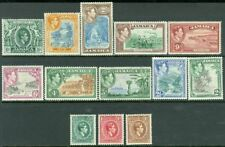 EDW1949SELL : JAMAICA 1938-51 Scott #116-28. 7 Cplt sets Fresh & VF MOG Cat $413