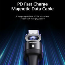 4.92ft PD Fast Charge Magnetic Cable 100W 5A Data Transmission Type C To Type C