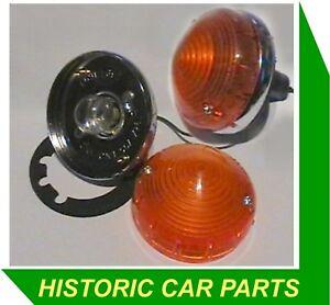 Lotus Elan S1 S2 S3 S4 1962-73 - 2 FRONT INDICATOR LIGHTS L691 L692