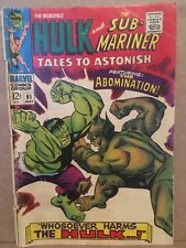 Marvel Comics Tales to Astonish #91 March 1967