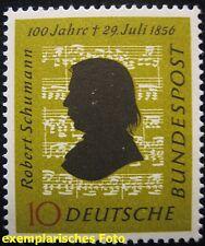 BUND 1956   MICHEL Nr. 234  10 Pfennig Robert Schumann  POSTFRISCH