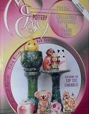 VINTAGE McCOY POTTERY PRICE GUIDE COLLECTOR'S BOOK Cookie Jars ++ Color Pics