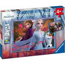 Ravensburger ~Frozen 2 - Frosty Adventures 2 x 24Pc  ~ 4+