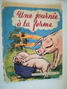 Germaine Bouret - Une journée à la ferme - collection Pavillon N°9 - 1955
