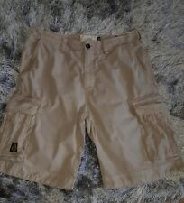 Franklin & Marshall Stone Cargo Shorts Size 32