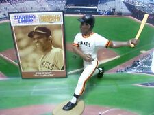 """1989 WILLIE MAYS - Starting Lineup """"Baseball Greats"""" Loose w/Card - S.F. GIANTS"""
