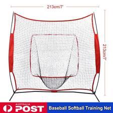 Baseball Softball Practice Net Hitting Batting Catching Pitching Training Net 7'