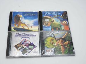 Disney PC CD Game, Print, and Audio Lot - The Lion King - Tarzan - Dinosaur