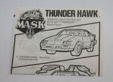 1986 Kenner M.A.S.K. Mask Thunderhawk Instructions