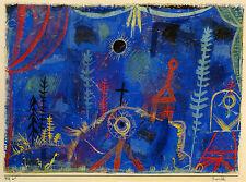 Paul Klee Reproduction: Hermitage - Fine Art Print